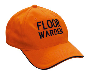 Floor Warden Hat