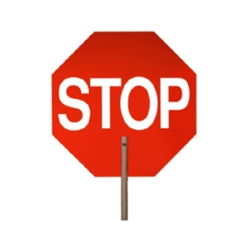 14 stop sign with handle safetymax com emergency preparedness